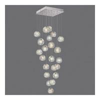 Fine Art Lamps 853340-106ST Natural Inspirations 22 Light 24 inch Silver Pendant Ceiling Light