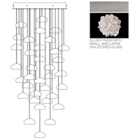Fine Art Lamps Natural Inspirations 36 Light Drop Light in Silver Leaf 853440-105ST