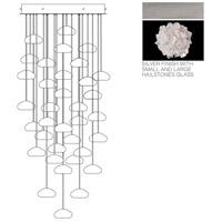 Fine Art Lamps 853440-105ST Natural Inspirations 36 Light 34 inch Silver Pendant Ceiling Light