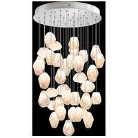 Fine Art Lamps 853440-14LD Natural Inspirations 36 Light 34 inch Silver Pendant Ceiling Light