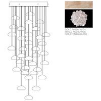 Fine Art Lamps 853440-205ST Natural Inspirations 36 Light 34 inch Gold Pendant Ceiling Light