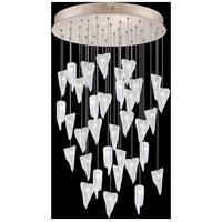 Fine Art Lamps 853440-208LD Natural Inspirations 36 Light 34 inch Gold Pendant Ceiling Light