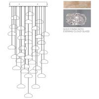 Fine Art Lamps 853440-21ST Natural Inspirations 36 Light 34 inch Gold Pendant Ceiling Light