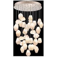 Fine Art Lamps 853440-24LD Natural Inspirations 36 Light 34 inch Gold Pendant Ceiling Light