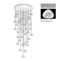Fine Art Lamps 853440-107ST Natural Inspirations 36 Light 34 inch Silver Pendant Ceiling Light