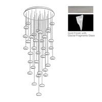 Fine Art Lamps 853440-108ST Natural Inspirations 36 Light 34 inch Silver Pendant Ceiling Light