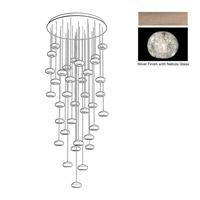 Fine Art Lamps 853440-206ST Natural Inspirations 36 Light 34 inch Gold Drop Light Ceiling Light