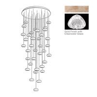Fine Art Lamps 853440-207ST Natural Inspirations 36 Light 34 inch Gold Drop Light Ceiling Light