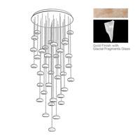 Fine Art Lamps 853440-208ST Natural Inspirations 36 Light 34 inch Gold Drop Light Ceiling Light