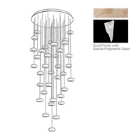 Fine Art Lamps 853440-208ST Natural Inspirations 36 Light 34 inch Gold Pendant Ceiling Light