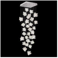 Fine Art Lamps 853540-102LD Natural Inspirations 30 Light 30 inch Silver Pendant Ceiling Light