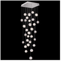 Fine Art Lamps 853540-106LD Natural Inspirations 30 Light 30 inch Silver Pendant Ceiling Light