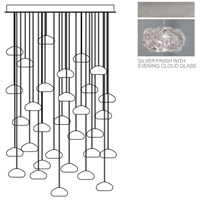 Fine Art Lamps 853540-11ST Natural Inspirations 30 Light 30 inch Silver Pendant Ceiling Light
