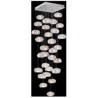 Fine Art Lamps 853540-11LD Natural Inspirations 30 Light 30 inch Silver Pendant Ceiling Light