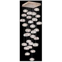 Fine Art Lamps 853540-21LD Natural Inspirations 30 Light 30 inch Gold Pendant Ceiling Light