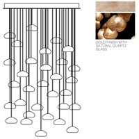 Fine Art Lamps 853540-24ST Natural Inspirations 30 Light 30 inch Gold Pendant Ceiling Light