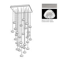 Fine Art Lamps 853540-107ST Natural Inspirations 30 Light 30 inch Silver Pendant Ceiling Light