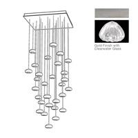 Fine Art Lamps 853540-107ST Natural Inspirations 30 Light 30 inch Silver Pendant Ceiling Light