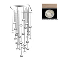 Fine Art Lamps 853540-206ST Natural Inspirations 30 Light 30 inch Gold Pendant Ceiling Light