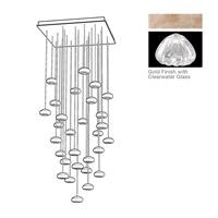 Fine Art Lamps 853540-207ST Natural Inspirations 30 Light 30 inch Gold Pendant Ceiling Light