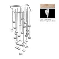 Fine Art Lamps 853540-208ST Natural Inspirations 30 Light 30 inch Gold Drop Light Ceiling Light