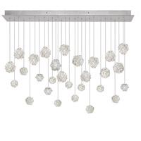 Fine Art Lamps 853640-105ST Natural Inspirations 28 Light 54 inch Silver Pendant Ceiling Light