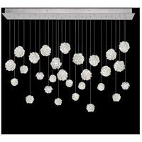 Fine Art Lamps 853640-105LD Natural Inspirations 28 Light 54 inch Silver Pendant Ceiling Light