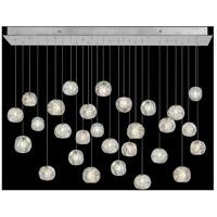 Fine Art Lamps 853640-106LD Natural Inspirations 28 Light 54 inch Silver Pendant Ceiling Light