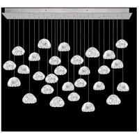 Fine Art Lamps 853640-107LD Natural Inspirations 28 Light 54 inch Silver Pendant Ceiling Light
