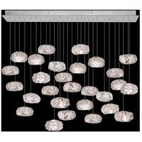 Fine Art Lamps 853640-11LD Natural Inspirations 28 Light 54 inch Silver Pendant Ceiling Light