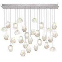 Fine Art Lamps 853640-13ST Natural Inspirations 28 Light 17 inch Silver Pendant Ceiling Light