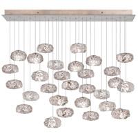 Fine Art Lamps 853640-21ST Natural Inspirations 28 Light 17 inch Gold Pendant Ceiling Light