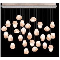Fine Art Lamps 853640-24LD Natural Inspirations 28 Light 54 inch Gold Pendant Ceiling Light