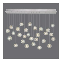 Natural Inspirations 28 Light 54 inch Silver Drop Light Ceiling Light