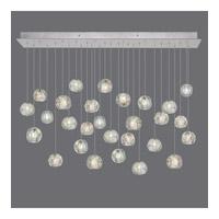 Fine Art Lamps 853640-106ST Natural Inspirations 28 Light 54 inch Silver Drop Light Ceiling Light