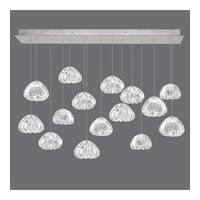 Fine Art Lamps 853740-107ST Natural Inspirations 15 Light 48 inch Silver Drop Light Ceiling Light