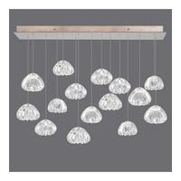 Fine Art Lamps 853740-207ST Natural Inspirations 15 Light 48 inch Gold Drop Light Ceiling Light