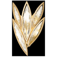 Fine Art Lamps Marquise 4 Light Wall Sconce in Florentine Brushed Gold Leaf 854050-22ST