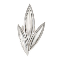 Fine Art Lamps Marquise 2 Light Wall Sconce in Platinized Silver Leaf 854250-11ST