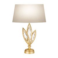 Fine Art Lamps Marquise 1 Light Table Lamp in Florentine Brushed Gold Leaf 854410-22ST