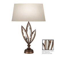 Fine Art Lamps Marquise 1 Light Table Lamp in Antique Hand Rubbed Bronze 854410-31ST