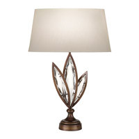 Fine Art Lamps Marquise 1 Light Table Lamp in Antique Hand Rubbed Bronze 854410-32ST