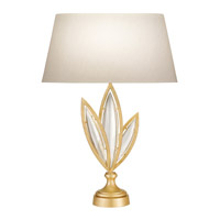 Fine Art Lamps Marquise 1 Light Table Lamp in Florentine Brushed Gold Leaf 854610-21ST
