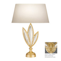 Fine Art Lamps Marquise 1 Light Table Lamp in Florentine Brushed Gold Leaf 854610-22ST