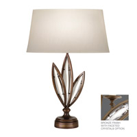 Fine Art Lamps Marquise 1 Light Table Lamp in Antique Hand Rubbed Bronze 854610-32ST