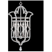 Prussian Neoclassic 6 Light 19 inch Prussian Silver Gray Hanging Lantern Ceiling Light