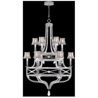 Fine Art Lamps 857640-11ST Prussian Neoclassic 12 Light 39 inch Silver Chandelier Ceiling Light