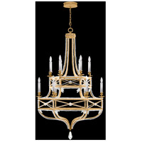 Fine Art Lamps Prussian Neoclassic 12 Light Chandelier in Brandenburg Gold Leaf 857640-22ST