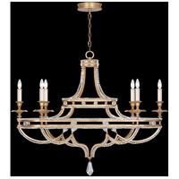 Fine Art Lamps Prussian Neoclassic 6 Light Chandelier in Brandenburg Gold Leaf 857840-22ST