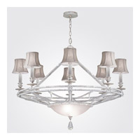 Fine Art Lamps Prussian Neoclassic 8 Light Chandelier in  Prussian Silver Gray 858840-11ST